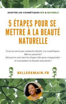 5 étapes pour se mettre à la beauté naturelle