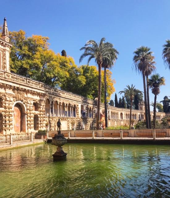 Petit aperçu des splendides jardin du Reales Alcazar