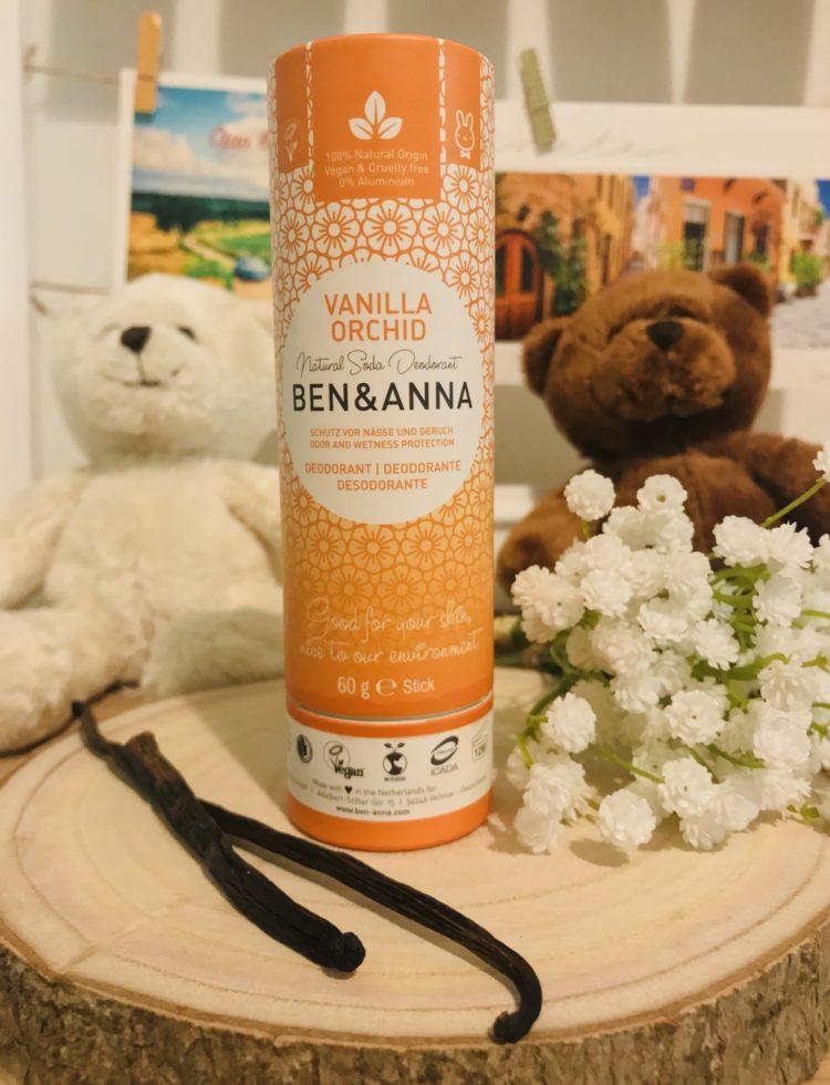 deodorant naturel ben anna