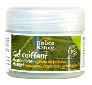 gel coiffant douce nature