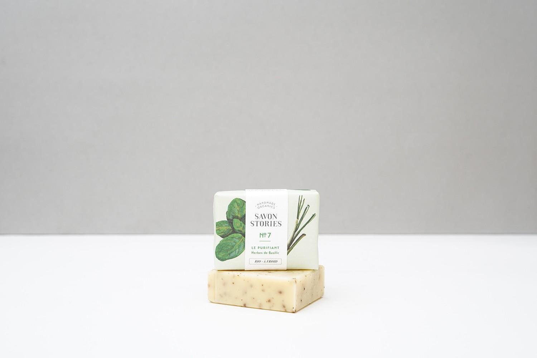 savon bio purifiant basilic