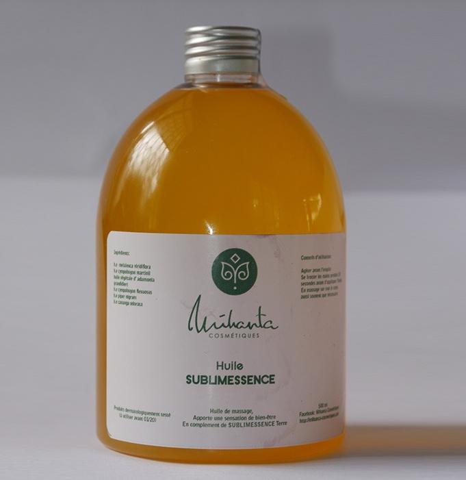 huile sublimessence corps mihanta cosmetiques