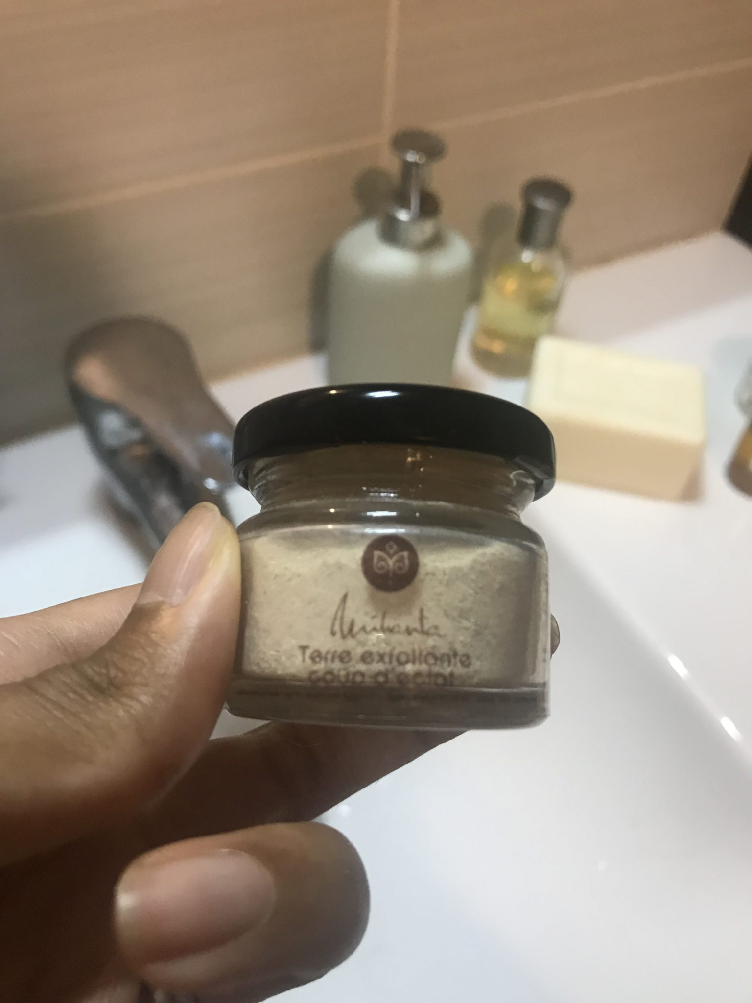 terre exfoliante mihanta cosmetiques