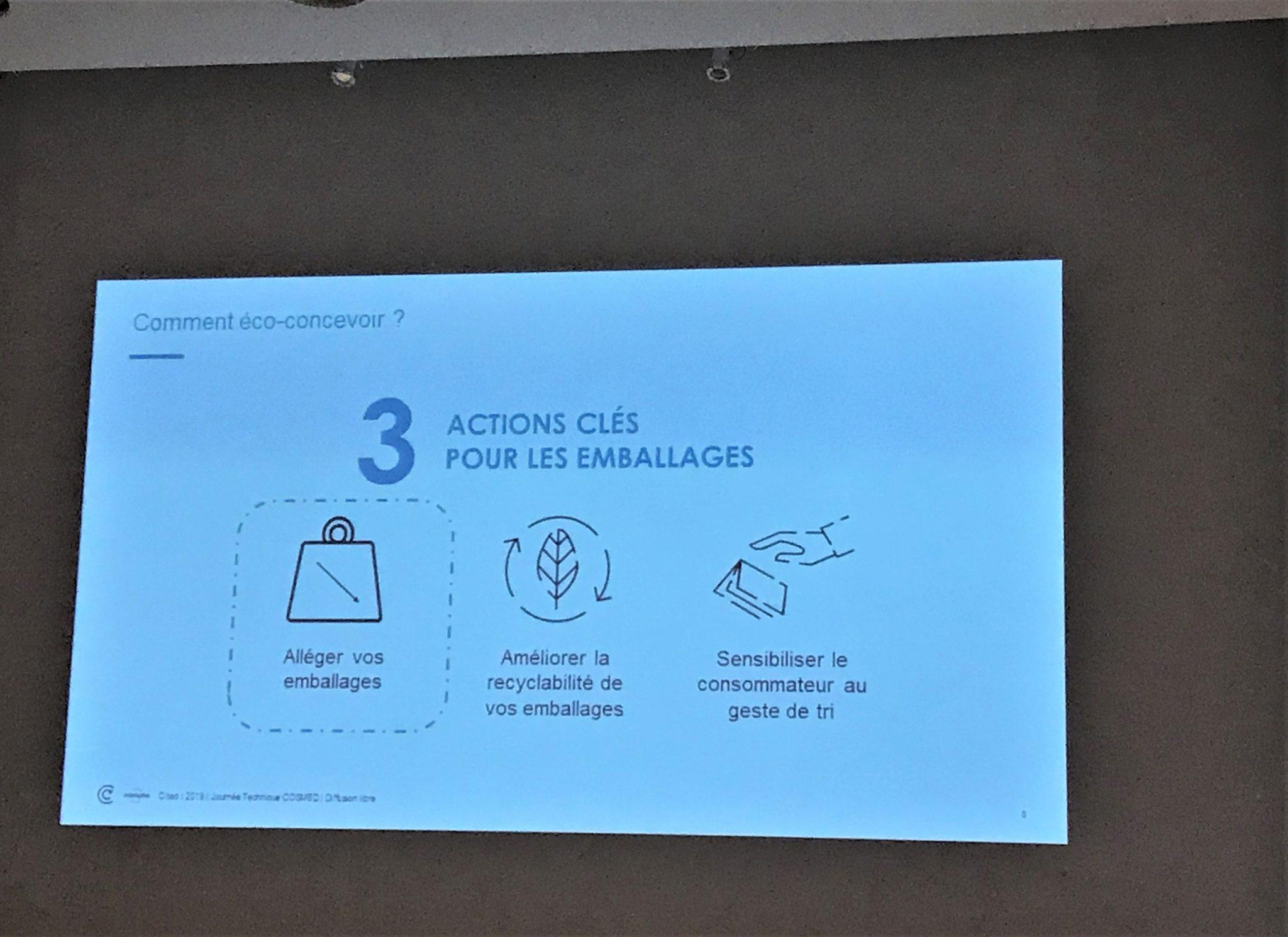 3 clés pour une écoconception des emballages selon CITEO