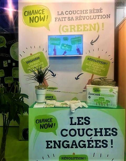 Les couches Change Now!
