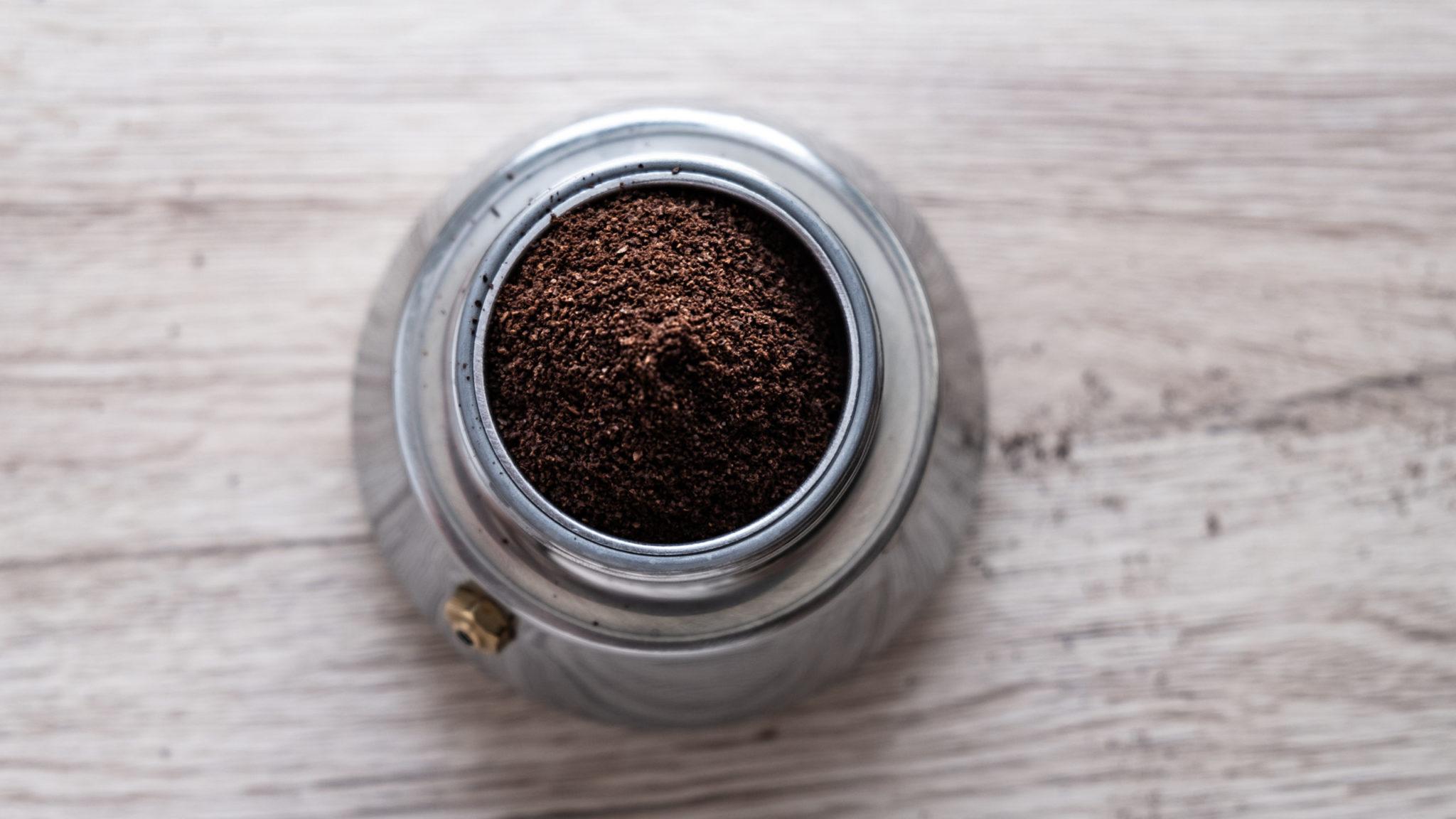 gommage au café