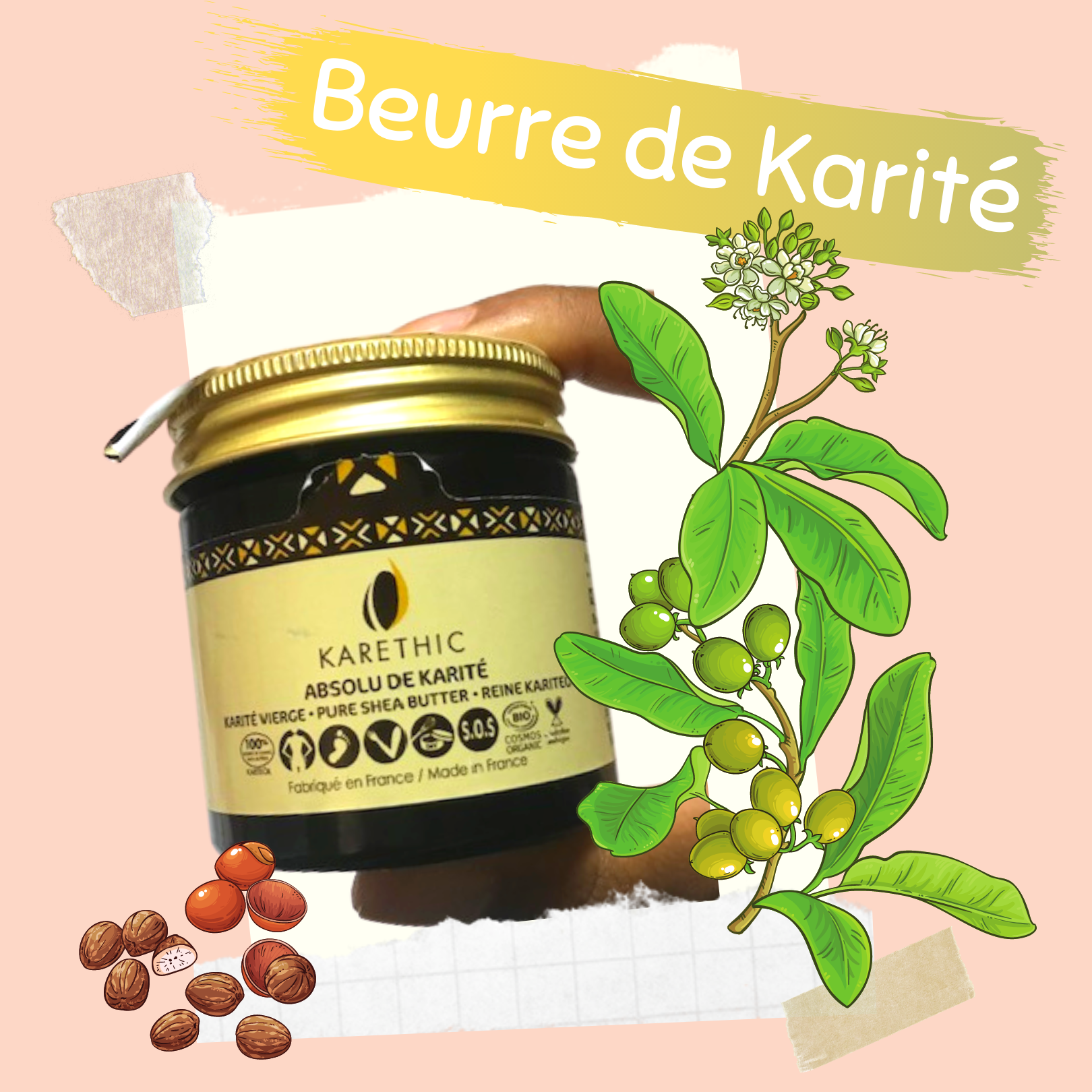 beurre de karite karethic